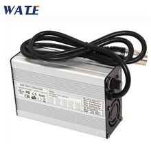 Cargador de batería Li ion 54,6 V 2A 13S 48V Lipo/LiMn2O4/LiCoO2 cargador de batería Auto Stop herramientas inteligentes