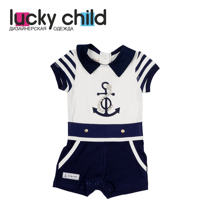 Jumpsuit Sandpiper Lucky Child for girls 28-28D Children's Baby Kids Overalls clothes rompers lucky child for girls 0 28 romper baby jumpsuit kids overalls children clothes