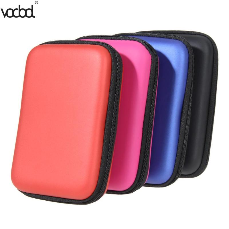 2 5 quot HDD Bag Hard Disk Case Zipper Pouch External Hard Drive Disk Protector Cover Powerbank Mobile HDD EVA Storage Box Caddy in Stationery Holder from Office amp School Supplies