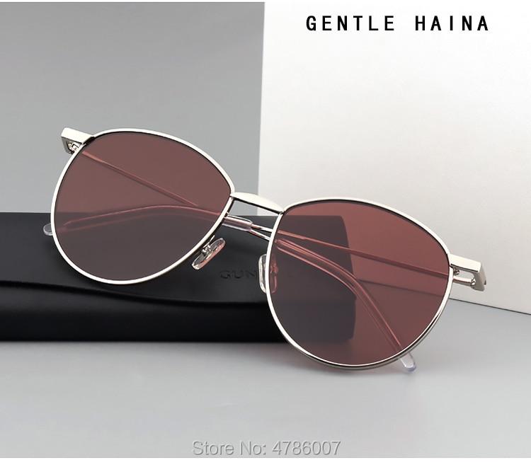 Titan Nachtsicht Sanfte black Box Brillen Männer 2019 Frauen Gläser Marke Lila Uv400 Luxus claret Metall Yellow Mit Runde Objektiv Sonnenbrille Xwvfwq