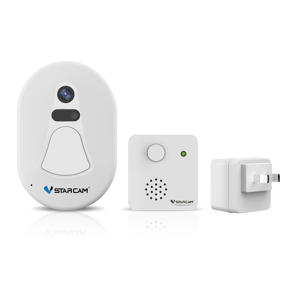 Smart Wireless Wifi Doorbell With Camera Automatically Takes Photo Picture Home Security Tiny Size Smart Wi-fi Photo DoorbellSmart Wireless Wifi Doorbell With Camera Automatically Takes Photo Picture Home Security Tiny Size Smart Wi-fi Photo Doorbell