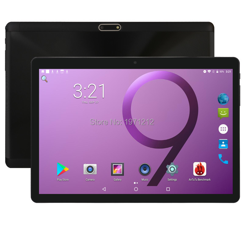 10 Inch Tablet Support Google Octa Core 4GB RAM 64GB ROM 3G 4G FDD LTE Phone Call Android 8.0 Tablet GPS WIFI 1280X800 IPS Pad
