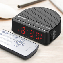 Multi-Function Wireless Bluetooth Speaker Music Player LED Alarm Clock Digital Display FM Radio WXV Sale bluetooth alarm clock wireless speaker with led display
