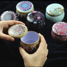 Китайский стиль, жестяная чайная коробка, коробки для конфет, печенья, цветок, роза, чай в форме барабана, банка, контейнер для свечей, подарок, праздничные вечерние принадлежности