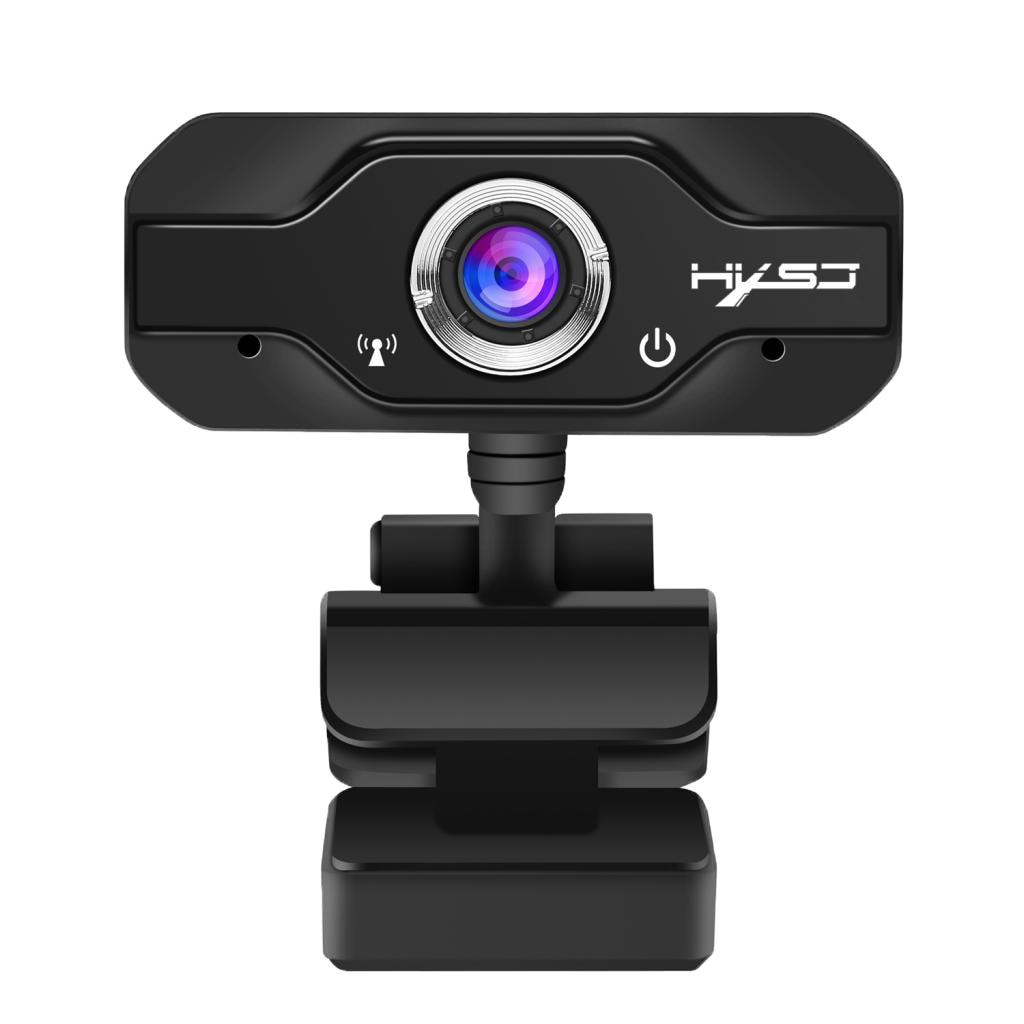HXSJ Webcam Web caméra avec micro USB 1080 P Clip-on pour ordinateur PC