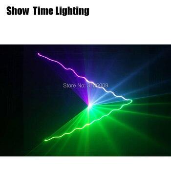 Бесплатная доставка Dj лазерный диско домашний лазерный светильник для вечеринки dmx rgb лазерное сценическое освещение для КТВ танцевальное ...