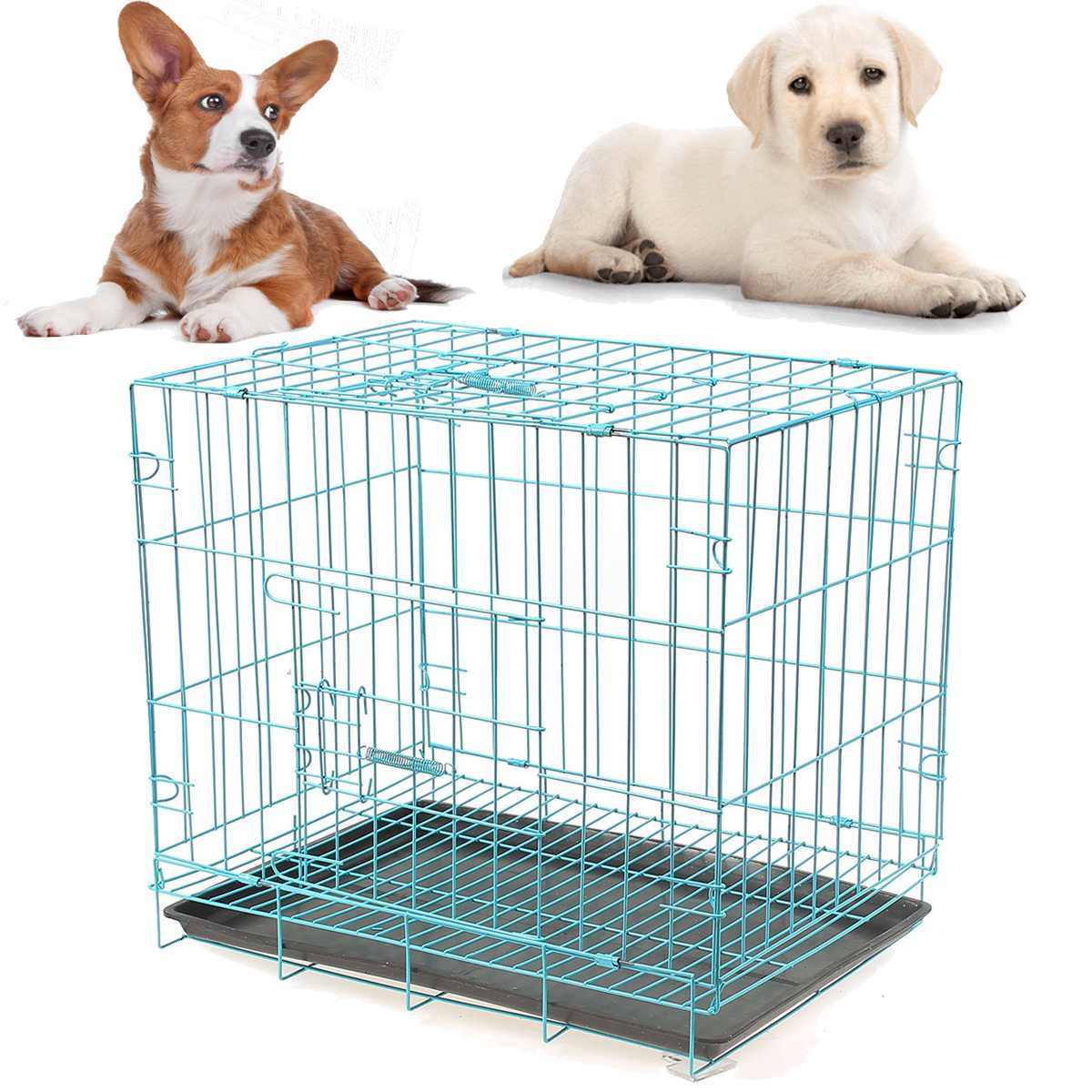 Portable Foldable Playpen Pet Dog Crate Room Puppy Kennel Cage For Cats Dogs Pet HousePortable Foldable Playpen Pet Dog Crate Room Puppy Kennel Cage For Cats Dogs Pet House