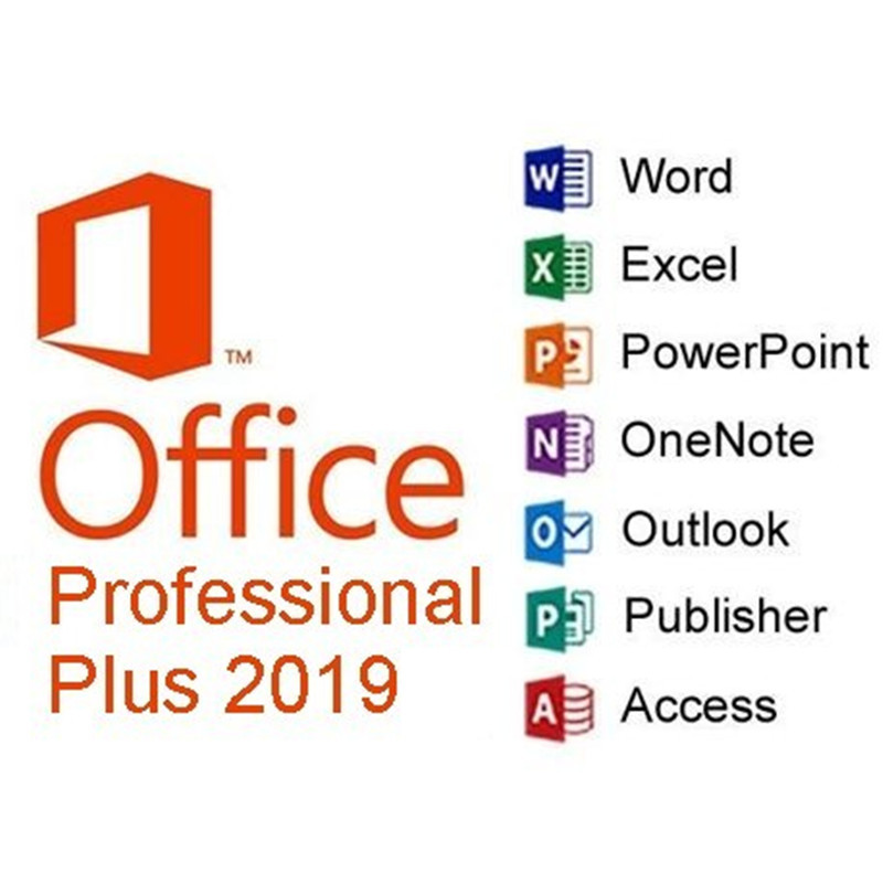 Image 3 - Microsoft Office 2019 Professional Plus License |1 device, Windows 10 PC Product Key Card