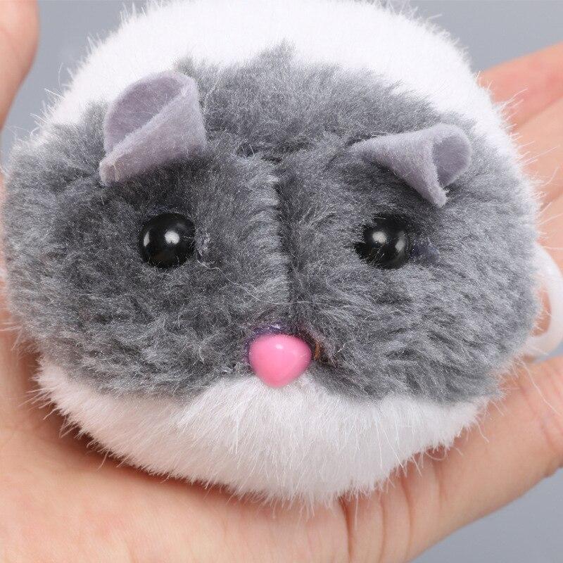 Fashion Kitten Toys Bite toy Cute Plush Fur 1PC New Pet Little Interactive Movement Rat Mouse
