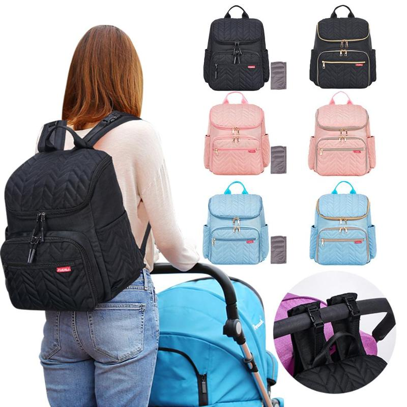 Zipper Maternity Nursing Bag Solid Color