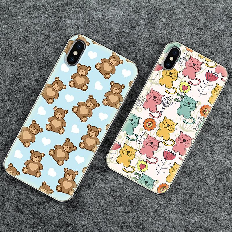 Soft Phone <font><b>Case</b></font> Cute Cartoon Series For <font><b>Doogee</b></font> BL7000/ X20/ X30/ <font><b>X70</b></font>/ X55 Colorful Animals Painted TPU <font><b>Silicone</b></font> Cover image