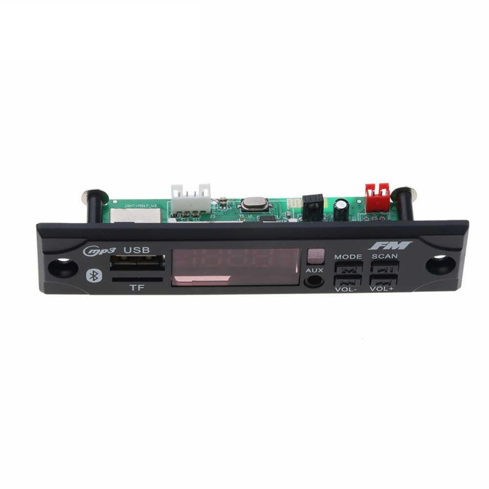 Auto Audio USB TF FM Radio Modul Drahtlose Bluetooth MP3 Decoder mit Fernbedienung Kostenloser Dropship Marke Neue