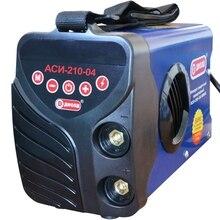Аппарат сварочный инверторный Диолд АСИ-210-04 (Напряжение питания 6000 В, Сварочный ток 20-210 А, продолжительность включения 70% 210A, макс.диаметр электрода 4 мм)