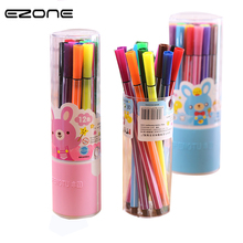 EZONE One Box 12Colors Liquid Chalk Marker Pens Erasable Multi Colored big Highlighters For Art  Stationery School Supplies Gift