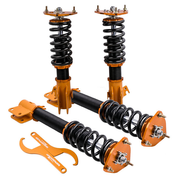 for Subaru Impreza Bugeye Blobeye WRX GDB GDA Coilover Suspension Shock Strut for Saab 9-2X 2002 2003 2004 2005 2006 2007
