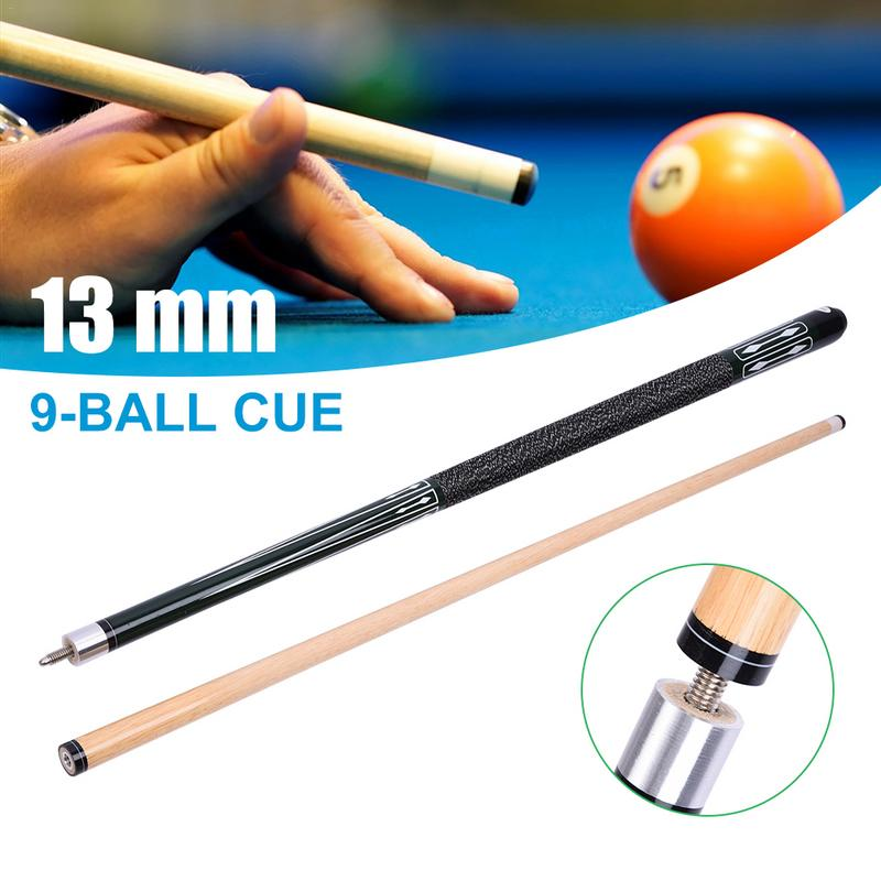 13MM Cue Tip Hardwood Maple Billiard Pool Stick Entertainment Snooker Accessories Tools
