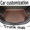 ZHAOYANHUA пользовательские подходят усиленные боковые автомобильные коврики для багажника Toyota Avalon Camry Crown Reiz Corolla