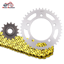 цена на For Honda CT700 CTX700 520 15T 41T 700CC Motorcycle Drive Chain and Front Rear Sprocket Kit CT CTX 700 N DCT 2014-2016 2014-2018