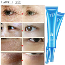 LAIKOU Moisturizing Whitening Eye Cream Hyaluronic Acid Hydrating Anti Wrinkle Remove Dark Circles Goji Eyes Skin Care
