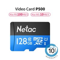 128GB Class10 TF Card Flash Micro SD Card for Smart Phone Memory Card and CCTV Camera & DVR Mass Data Storage High Speed 100MB/S