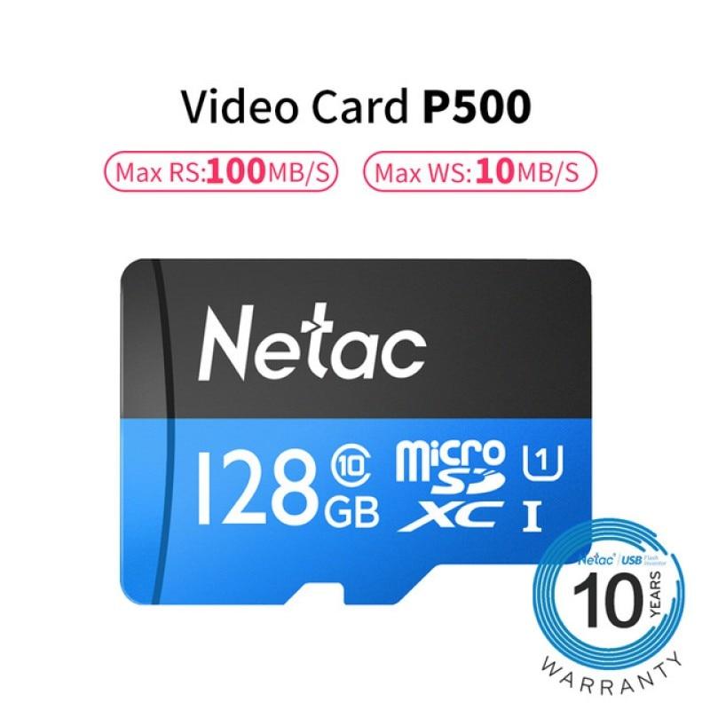 128 GB Class10 TF carte Flash Micro carte SD pour carte mémoire de téléphone intelligent et caméra CCTV et DVR stockage de données de masse haute vitesse 100 mo/s