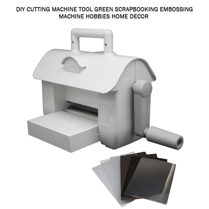 Date bricolage Machine à découper outil vert Scrapbooking gaufrage Machine loisirs décor à la maison # 4O - 4
