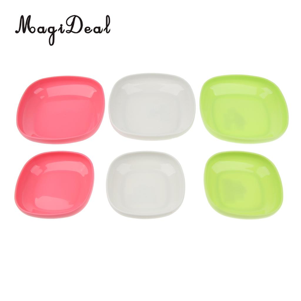 Easy To Clean Handsome Appearance Responsible Pp Plastic Plate For Bbq Picnic Garden Party Outdoor Reusable Dish