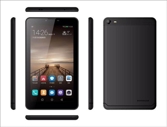 Bán! galvey 7 Inch MTK8321 Quad core Android 6.0 Dual SIM khe cắm 3G điện thoại gọi Tablet PC 1 GB + 8 GB Bluetooth WiFi Phablet