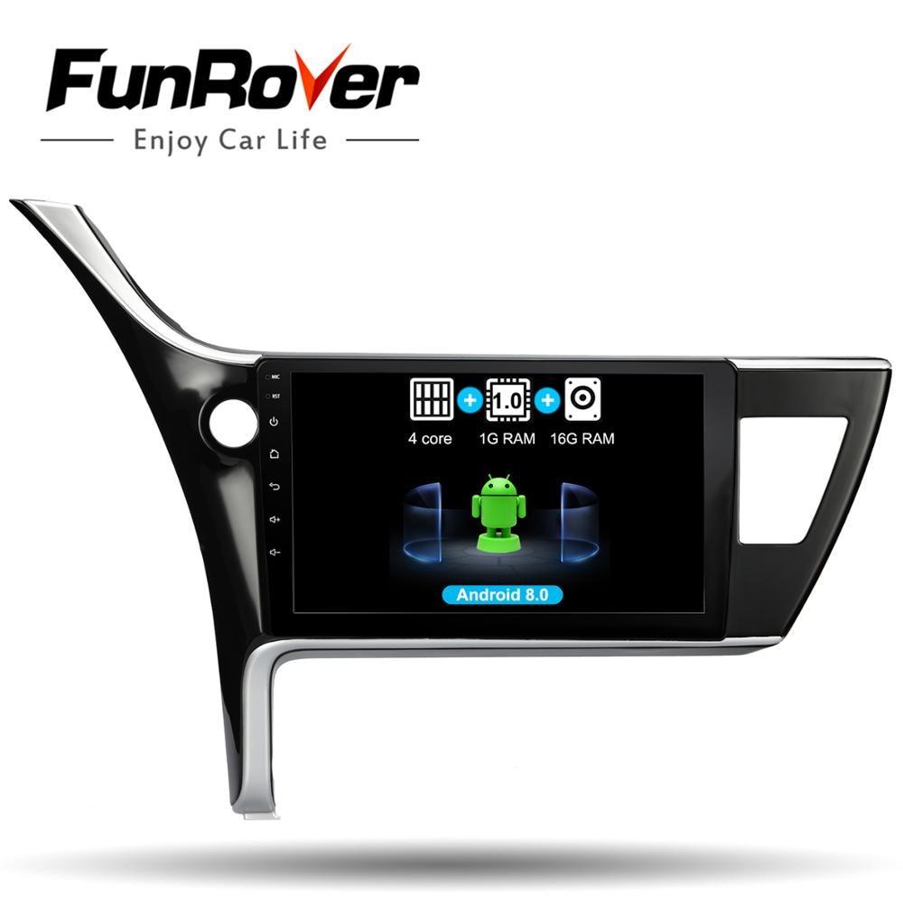 Lecteur multimédia d'autoradio Funrover Android 8.0 2 din 10