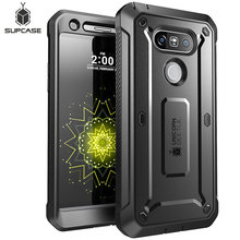 SUPCASE Für LG G5 Fall 5,3 zoll UB Pro Full Körper Robuste Holster Clip Schutzhülle Telefon Fall Abdeckung mit eingebaute Screen Protector