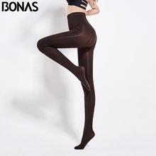 Bonas 80d женские весенние колготки эластичные однотонные Осенние