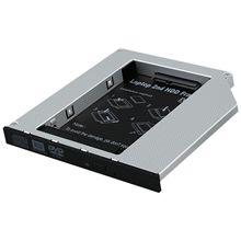 SATA Оптический отсек 2-й карман для жесткого диска, универсальный для 12,7 мм CD/DVD диск слот (для SSD и HDD)