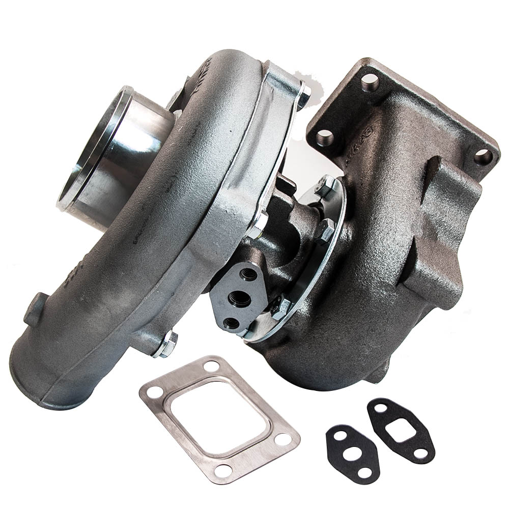 T04E T3/T4 A/R 0.63 55 TRIM 5 BOLT 400+HP BOOST TURBO CHARGER AFTERMARKET PARTS for 1.6L to 2.3L 400HP 5 bolt Compressor