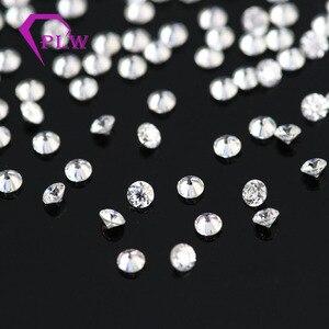 Image 5 - D cor 10 pçs * 0.1ct 3 mm/pacote preço de atacado vvs corte brilhante moissanite para anel pulseira brinco diamante
