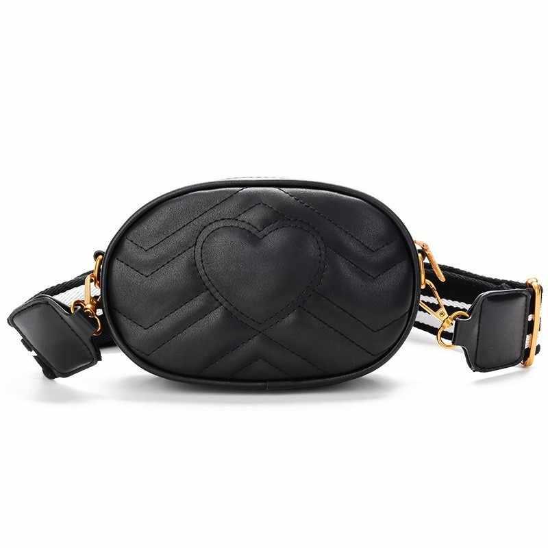 144f77749ac4 TTOU Женская поясная сумка в виде сердца с v-образным ромбовидной решеткой,  поясная сумка