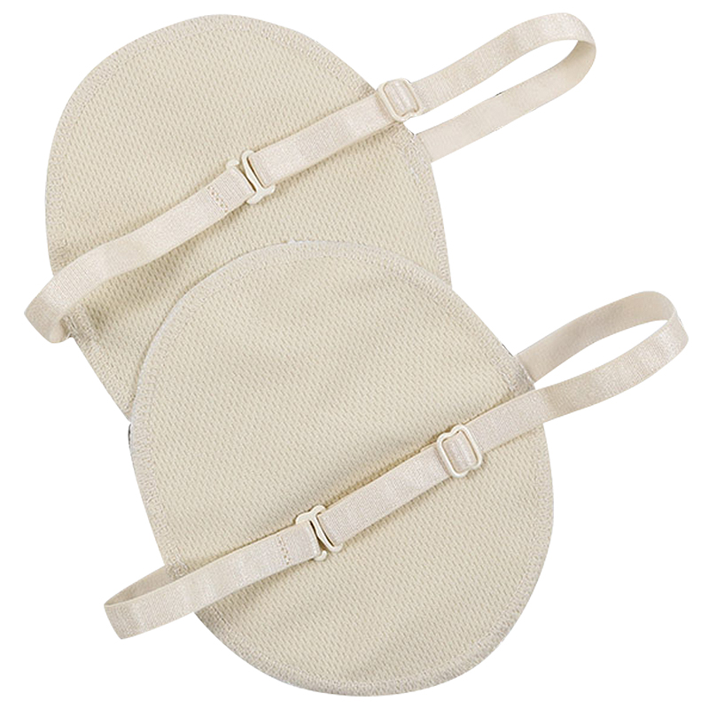 1 Pair Underarm Sweat Shield Pad Washable Armpit Sweat Absorbing Guards Shoulder Strap Reusable Underarm Sweat Pad Summer Swea