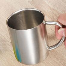 1pcs New 220ml 300ml 400ml Stainless Steel Portable Mug Cup Double Wall Travel Tumbler Coffee Mug Tea Cup
