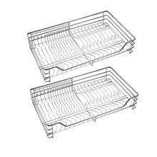 Armario De Cosina Despensa Gabinete Kuchnia Stainless Steel Cocina Organizer Kitchen Cabinet Cestas Para Organizar Basket