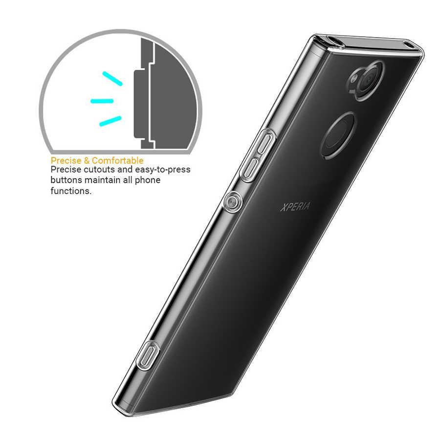 Прозрачный силиконовый мягкий чехол из ТПУ для sony Xperia XZ XZ1 X XZ2 Compact XZs Z5 Z4 Z3 Z2 M5 E5 XA XA1 Plus C5 C6