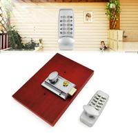 Security Smart Mechanical Digital Door Lock Push Button Keyless Password Code Waterproof Home Doorlock