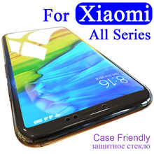 For xiaomi Pocophone A1 A2 F1 Protective Glass 5x 6x mi 8 Lite Screen Protector For redmi note 4X 6 Pro 6A 5A 5 plus 7 Tempered все цены