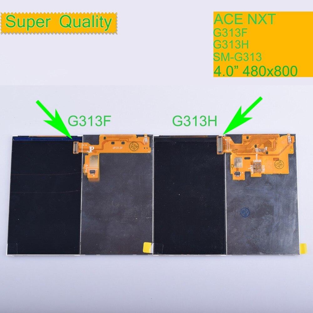 10Pcs/lot ORIGINAL LCD For Samsung Galaxy Ace NXT G313 G313F G313H SM-G313 Display Screen SM