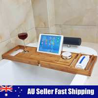 Wooden Handmade Bath Tray Bathroom Shelves Apply For Pad/Book/Tablet Home Bathrooms Accessories Bathtub Rack Stand Holder