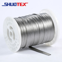 stainless steel flat braided wire sleeve