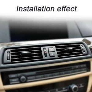 Image 4 - Auto Mitte EINE/C Air Outlet Vent Panel Gitter Abdeckung für BMW 5 Series F10 F18 523 525 535 auto Auto Ersatz Teile