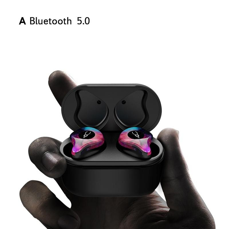 New Hot Mini BLuetooth Earphone Port Cordless Wireless Earbuds Stereo in ear Bluetooth 5.0 Waterproof Wireless ear buds Earphone sabbat x12 pro mini bluetooth earphone port cordless wireless earbuds stereo in ear 5 0 waterproof wireless ear buds earphones
