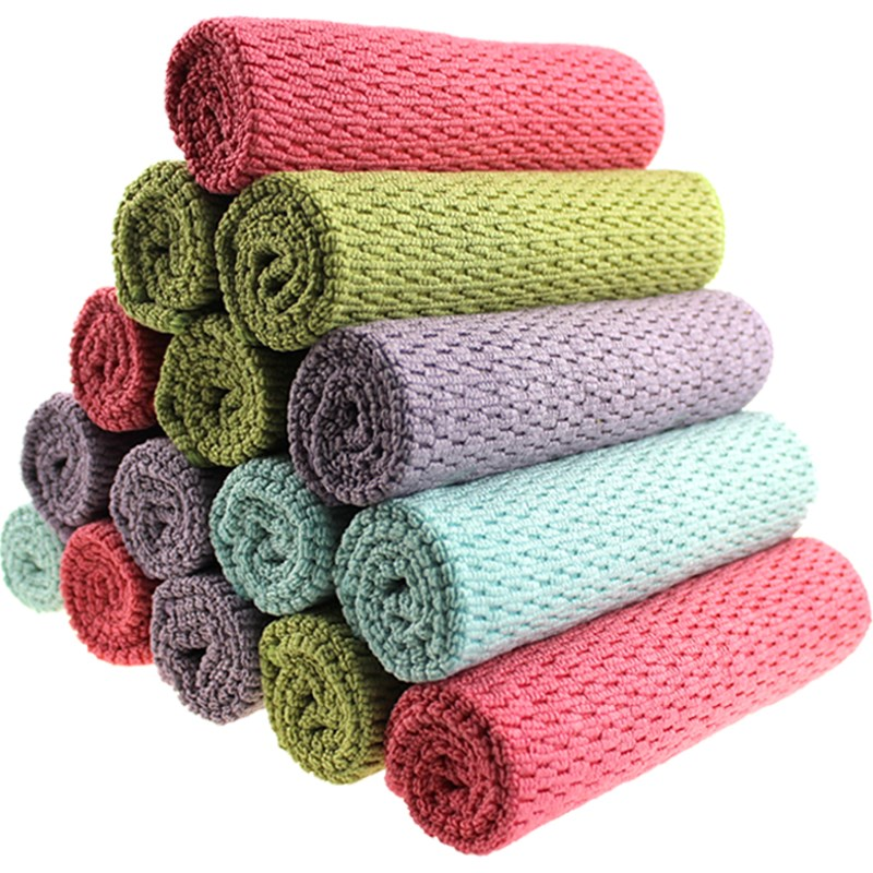 1PC 30*40cm Car Wash Microfiber Towel Car Cleaning Tools Super Absorbent Cloth Detailing Auto Detailing Cleaning Cloth