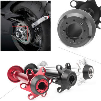 CNC Motorcycle Rear Fork Axle Slider Crash Protector Guard for Ducati Multistrada /1199 1299 Panigale S /Monster 1200 S R etc
