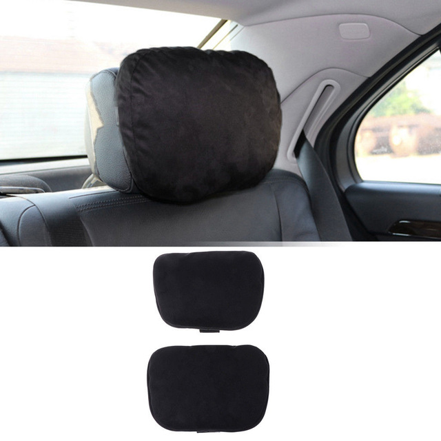 Soft Car Seat Cushion Headrest Neck Supports Pillows For Mercedes Benz Comfy 2