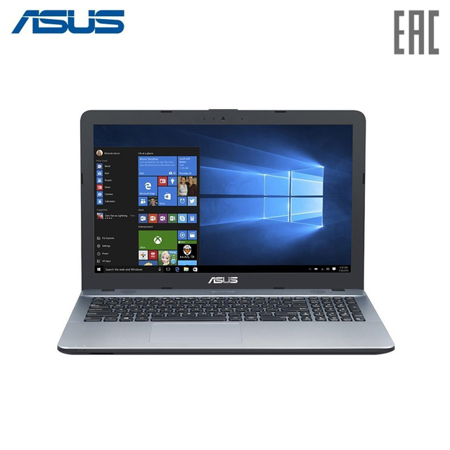 "Ноутбук ASUS X541UV (xMas Edition) Intel i3 6006U/8Gb/1Tb/No ODD/15.6"" HD/NVIDIA® GeForce® 920MX 2Gb DDR3/Wi-Fi/ENDLESS Silver (90NB0CG3-M24160)"